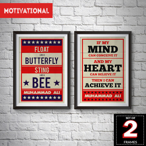 Set of 2 Motivational