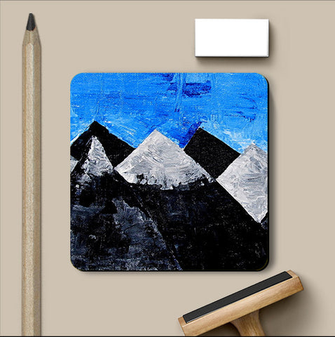 PosterGully Coasters, Mountain Coaster | Artist: Sunanda Puneet, - PosterGully
