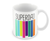 Mugs, SuperDad  #LOVEMYDAD Mug, - PosterGully - 1