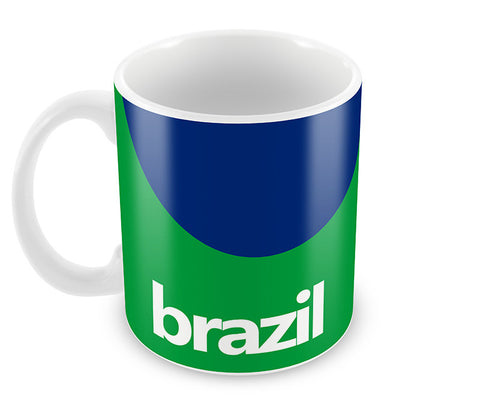 Mugs, Brazil Soccer Team #footballfan Mug, - PosterGully - 1