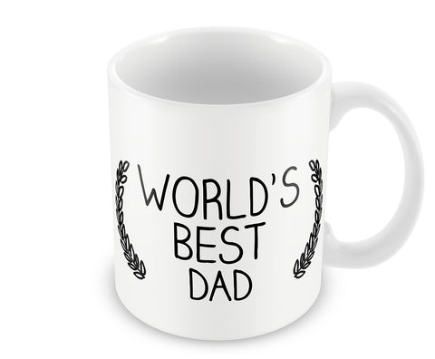Mugs, World's Best Dad  #LOVEMYDAD Mug, - PosterGully - 1