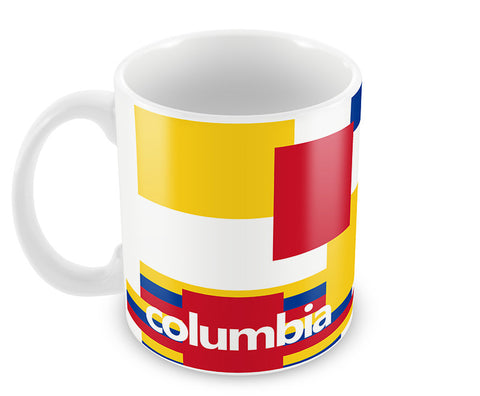 Mugs, Columbia Soccer Team #footballfan Mug, - PosterGully - 1