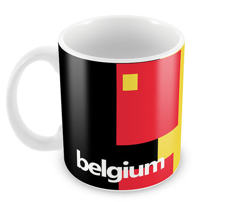 Mugs, Belgium Soccer Team #footballfan Mug, - PosterGully - 1