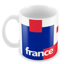 Mugs, France Soccer Team #footballfan Mug, - PosterGully - 1