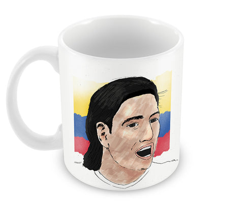 Mugs, Radamel Falcao Art Print Soccer #footballfan Mug, - PosterGully - 1