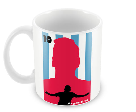 Mugs, Messi Dream Art Argentina #footballfan Mug, - PosterGully - 1