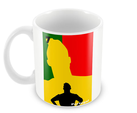 Mugs, Ronaldo Living Portugal Soccer #footballfan Mug, - PosterGully - 1