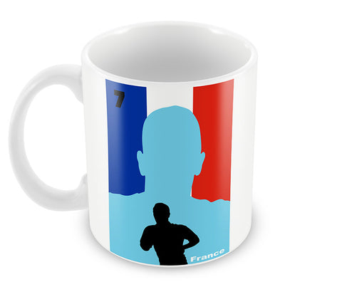 Mugs, Franck Ribery Scars Quote #footballfan Mug, - PosterGully - 1