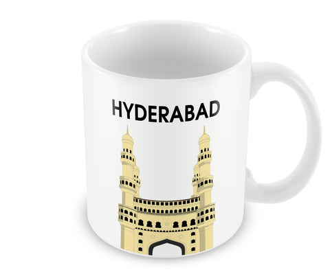 Mugs, Hyderabad Char Minar Mug, - PosterGully - 1