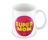 Mugs, Supermom Pink #LOVEMYMOM Mug, - PosterGully - 1