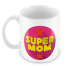 Mugs, Supermom Pink #LOVEMYMOM Mug, - PosterGully - 2