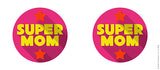 Mugs, Supermom Pink #LOVEMYMOM Mug, - PosterGully - 3