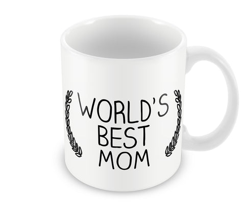 Mugs, World's Best Mom #LOVEMYMOM Mug, - PosterGully - 1