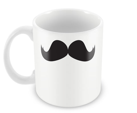 Mugs, Moustache 4 #moochi Mug, - PosterGully - 1