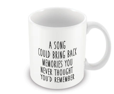 Mugs, Song And Memories Mug, - PosterGully - 1