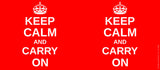 Mugs, Keep Calm And Carry On Mug, - PosterGully - 3