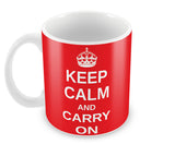 Mugs, Keep Calm And Carry On Mug, - PosterGully - 2