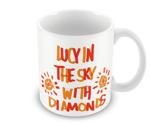Mugs, Lucy In The Sky Beatles Mug, - PosterGully - 1