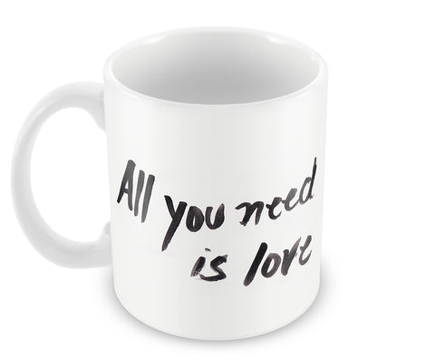 Mugs, All You Need Is Love Beatles #ROCKLEGENDS Mug, - PosterGully - 1