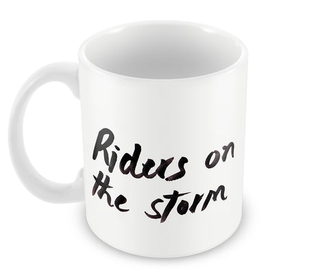 Mugs, Riders On The Storm Doors #ROCKLEGENDS Mug, - PosterGully - 1