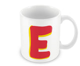 Mugs, E - Alphabets Mug, - PosterGully - 1