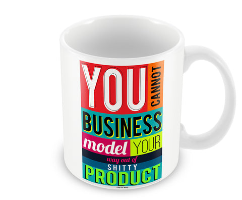 Mugs, Shitty - Tim O'Neil #business Mug, - PosterGully - 1