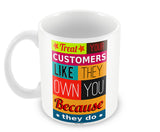 Mugs, Customers - Mark Cuban #business Mug, - PosterGully - 2