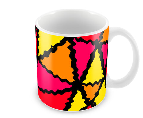Mugs, Sine Waves Abstract Mug, - PosterGully - 1