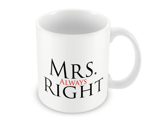 Mugs, Mrs ALways Right Mug, - PosterGully - 1