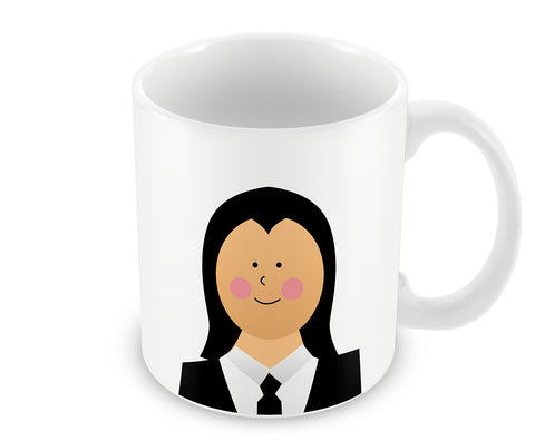 Mugs, Pulp Fiction Vincent #minimalicons Mug, - PosterGully - 1