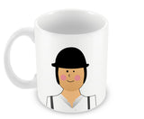 Mugs, Alex Clockwork Orange #minimalicons Mug, - PosterGully - 2