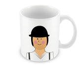 Mugs, Alex Clockwork Orange #minimalicons Mug, - PosterGully - 1