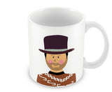 Mugs, Blondie The Good, the Bad and the Ugly #minimalicons Mug, - PosterGully - 1