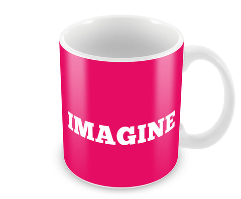 Mugs, Imagine Minimal Mug, - PosterGully - 1