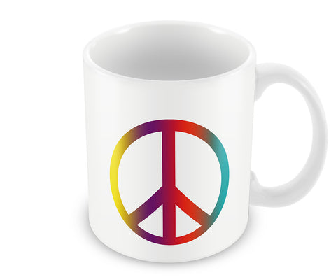 Mugs, Peace Sign Mug, - PosterGully - 1