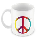 Mugs, Peace Sign Mug, - PosterGully - 2