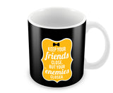 Mugs, Friends And Enemies Godfather Mug, - PosterGully - 1