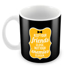 Mugs, Friends And Enemies Godfather Mug, - PosterGully - 2