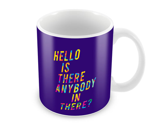 Mugs, Is There Anybody - Pink Floyd Mug, - PosterGully - 1