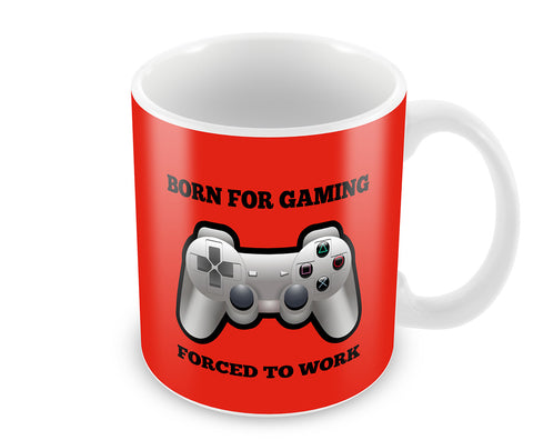 Mugs, Born For Gaming Mug, - PosterGully - 1