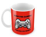 Mugs, Born For Gaming Mug, - PosterGully - 2