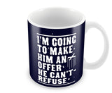 Mugs, Make Him Offer Godfather Mug, - PosterGully - 1