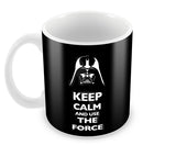 Mugs, Keep Calm And Use The Force Mug, - PosterGully - 2