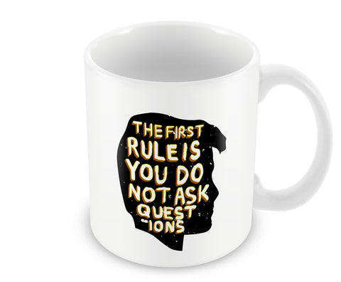 Mugs, First Rule Fight Club Mug, - PosterGully - 1