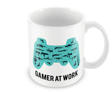 Mugs, Gamer At Work Mug, - PosterGully - 1