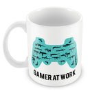 Mugs, Gamer At Work Mug, - PosterGully - 2
