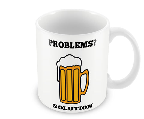 Mugs, Problems Solution Mug, - PosterGully - 1