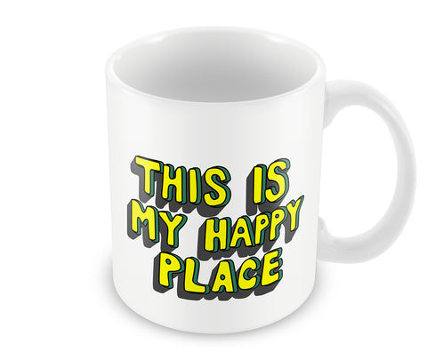 Mugs, This Is My Happy Place Mug, - PosterGully - 1