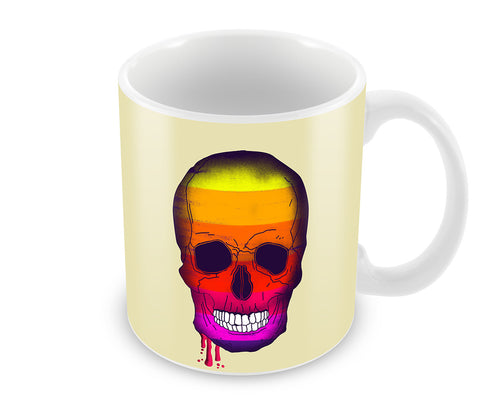Mugs, Pop Art Skull Mug, - PosterGully - 1