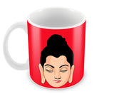 Mugs, Buddha Red Mug, - PosterGully - 2